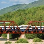 Cafe Lafayette Dinner Train Bridge