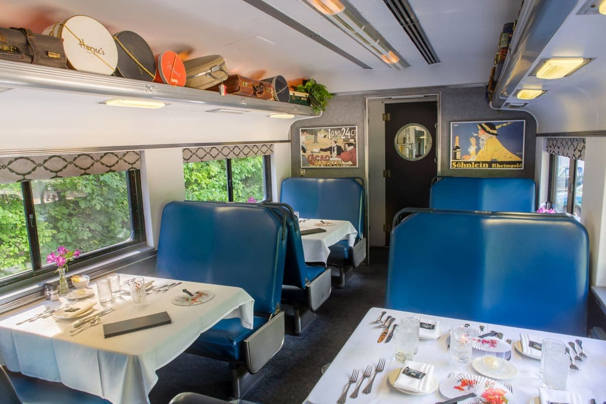 Cafe Lafayette Dinner Train Scenic Dining In The White
